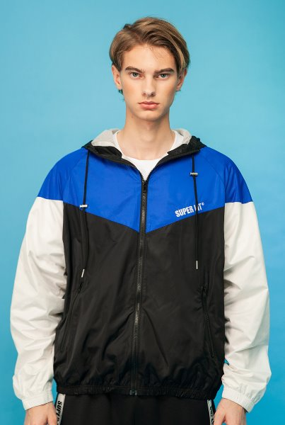 'SUPERLIT' windbreak blue