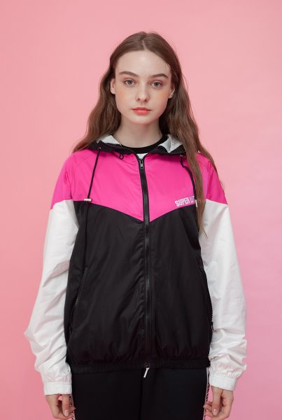 'SUPERLIT' windbreak pink