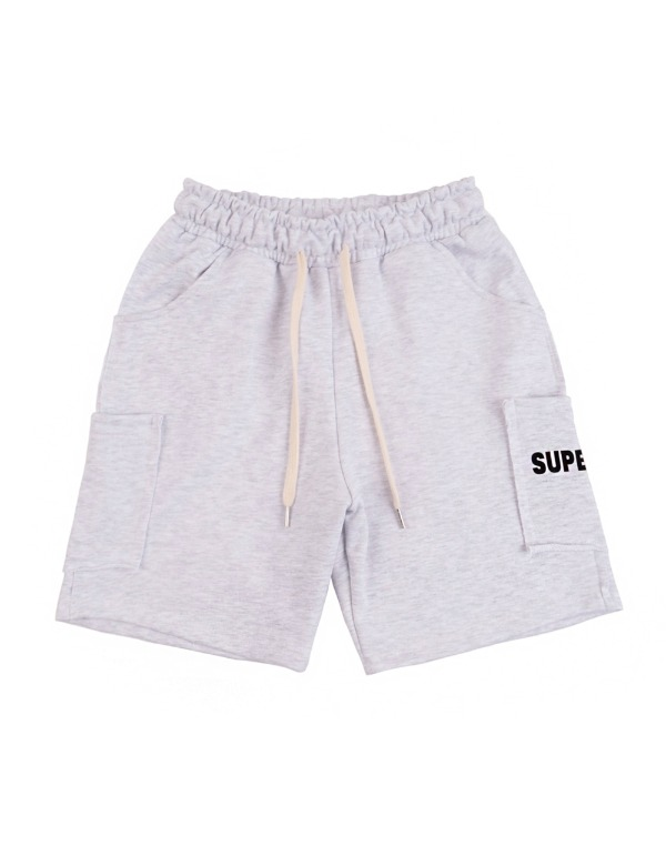 Color Pocket Shorts 백멜란지