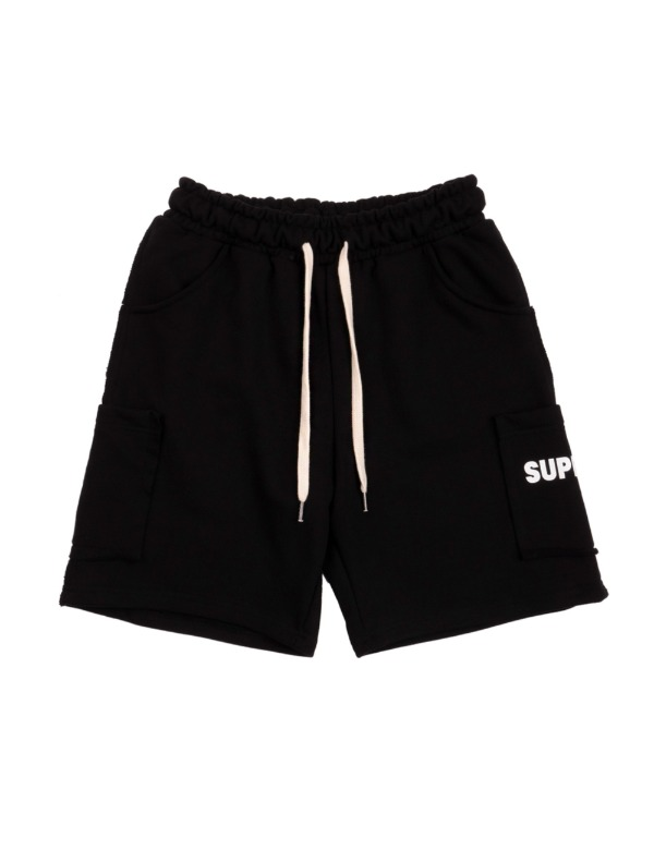 Color Pocket Shorts 블랙